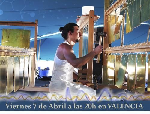 Mark Pulido con las Bilas en Valencia